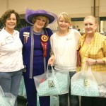 Left to right:  Mickey Wallis, Susan Kay Smith, Jessica Lawrence, and Cynthia Mills