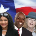 Left to right: Candidates Kasha Williams, Wray Wade, Victoria Wilson