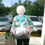 Ann Allen won the grand prize at the recent Healthy Woman Event