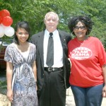 First day on the job, ETR intern kayce Bagley attends political rally, meets Judge Arthur Fort and Candidate Kasha Williams