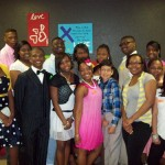 Front row, left to right:  Alexis Henry, Sheldon McGowan, president; Ashley Jordan, Shakala Jones, James Loya, Latrese Kelly, Alani Parks and Aimee Munoz Back row, left to right:   Gaquay Miller, Sh'Dadrean Rogers, Cu'Juan Dail, vice president; LaRandall Carter, Alexandra Henry, Dedrick Elliott, Lameka Foley and Demontray Platt