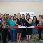 Everyone was excited at the recent ribbon-cutting for the Humane Society.