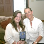 Gorman Brown,  Junior Culinarian of the Year, with mother, Kim Brown, marketing director,  Longview Regional  Medical Center