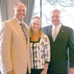 Keith Honey, external affairs manager, AEP SWEPCO; Suzanne, and husband, Judge Bill Stoudt