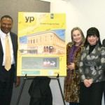 Neina Kennedy, Museum Director; Edwin Graves, AT&T Advertising Solutions Area Market Manager; Dee Farmer, Senator Eltife's district director;  Candice Gast, AT&T external affairs director; and the Honorable Gregg County Judge Bill Stoudt  attend the unveiling of the new AT&T Yellow Pages at the Gregg County Historical Museum.