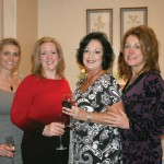 CBB Co-chair Natalie Feuquay with Susan Thomas, Beverly Rutland, and Wendy McDonald, nurses at the Cardiac Cath Lab